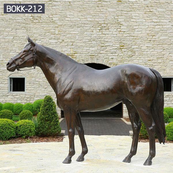 Outdoor modern metal horse art sculpture for sale