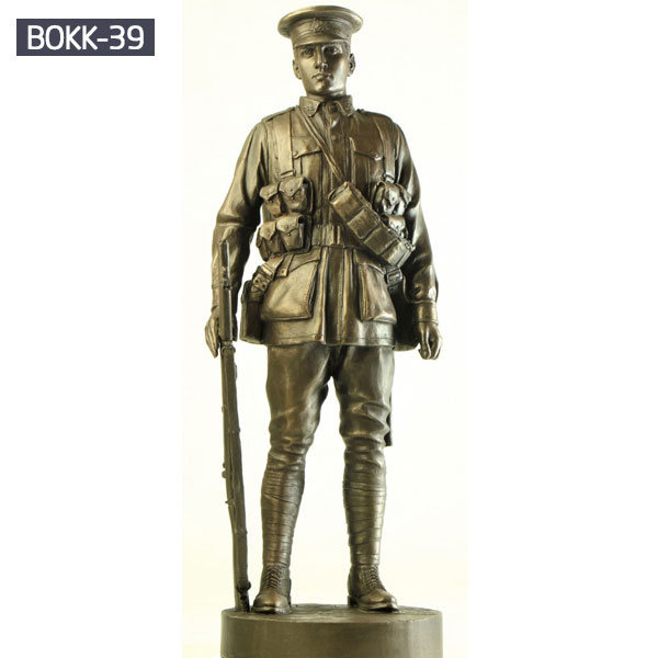 Life size military lawn bronze statues life size outdoor