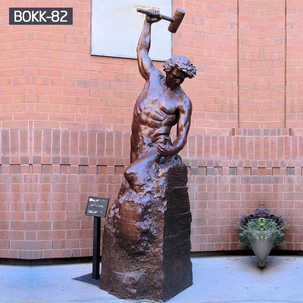 Self Made Statue